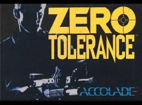 Zero Tolerance…